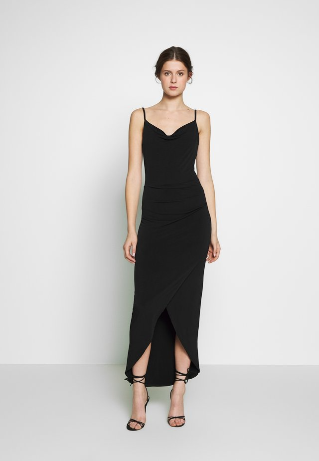BODYCON DRESS - Jersey dress - black