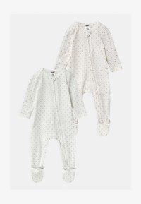 Cotton On - LONG SLEEVE ZIP 2 PACK  - Sleep suit - multi-coloured - 0
