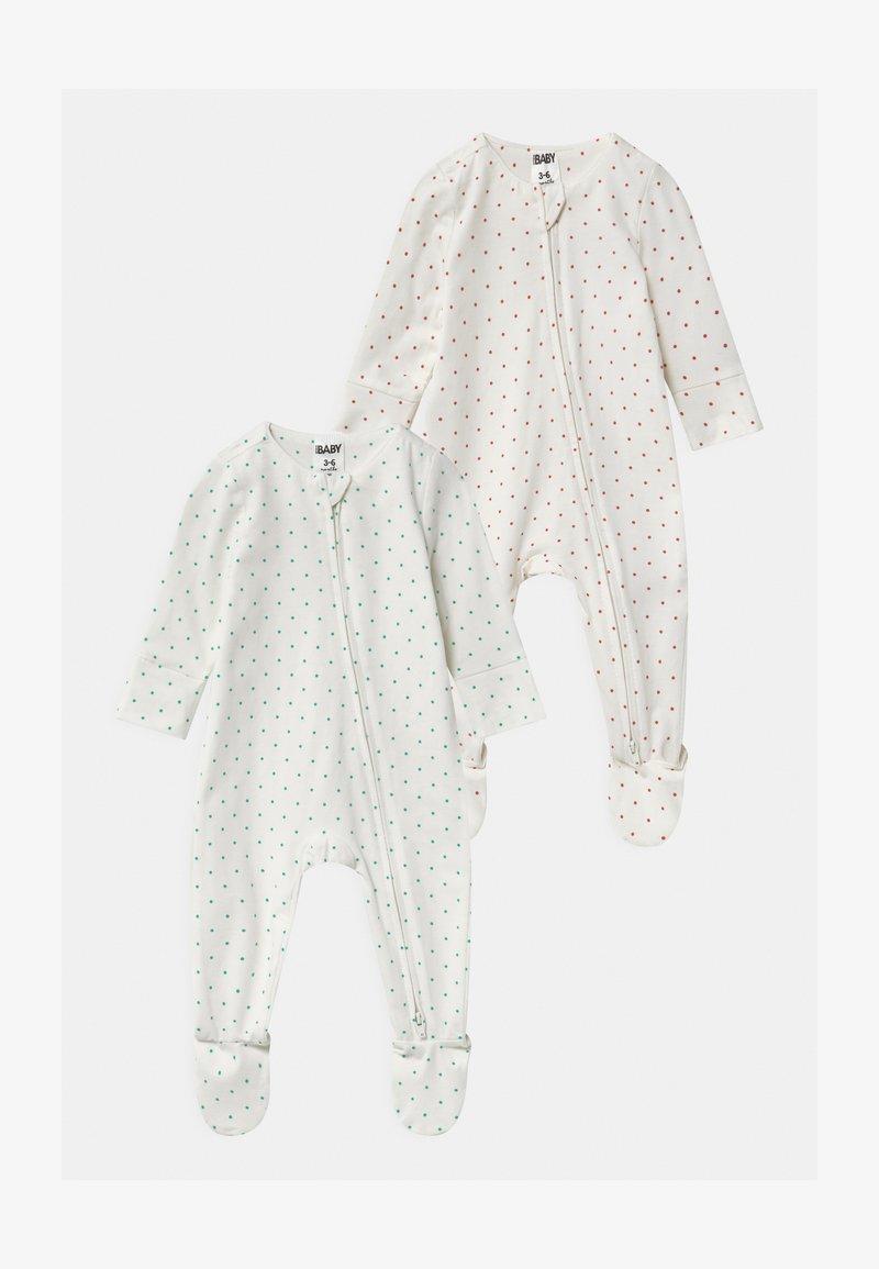 Cotton On - LONG SLEEVE ZIP 2 PACK  - Sleep suit - multi-coloured