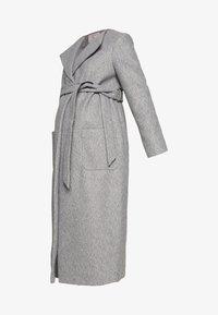 Dorothy Perkins Maternity - TWILL WRAP COAT - Abrigo de invierno - grey marl - 3