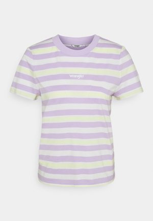 HIGH REGULAR TEE - Triko spotiskem - pastel violet