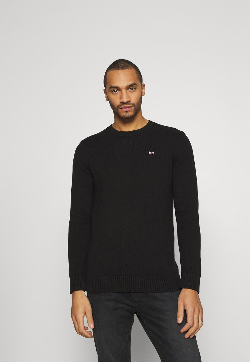 Tommy Jeans - ESSENTIAL  - Pullover - black