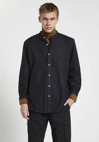 PULL&BEAR - Shirt - mottled black - 0