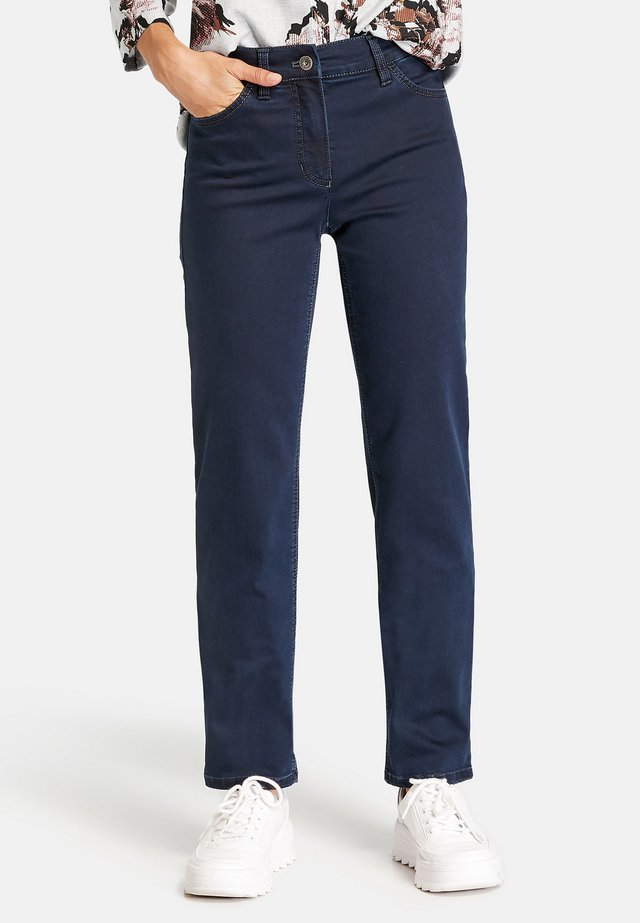 MIT STRETCHKOMFORT - Jean droit - dark blue denim