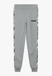 Puma - ALPHA PANTS - Tracksuit bottoms - medium gray heather - 0