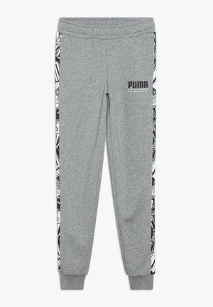 ALPHA PANTS - Träningsbyxor - medium gray heather