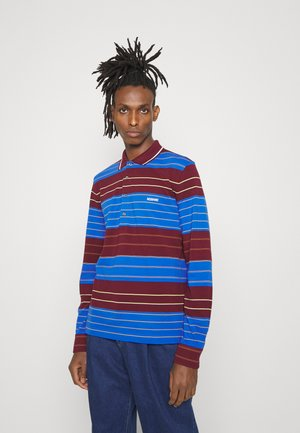 SLEEVE POLO - Polo shirt - bordo