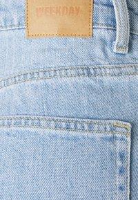 Weekday - ROWE SPLIT - Straight leg jeans - lula blue - 6