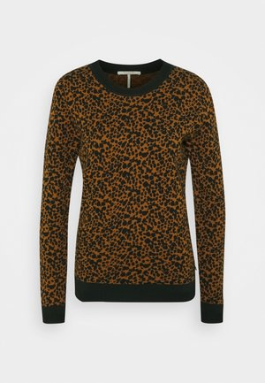 Jumper - brown/black