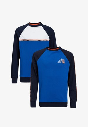2-PACK - Long sleeved top - blue