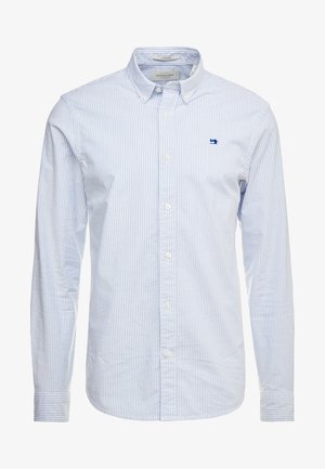 REGULAR FIT OXFORD SHIRT WITH STRETCH - Overhemd - off white