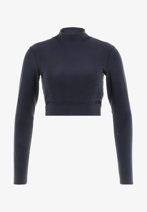 TECH PACK LONG SLEEVE TOP - Long sleeved top - oil grey/black