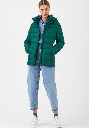 MIT ABNEHMBARER KAPUZE - Down jacket - gruen