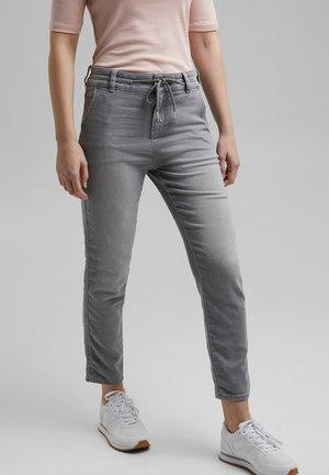 Slim fit jeans - grey light washed