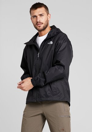 MENS QUEST JACKET - Hardshellová bunda - black