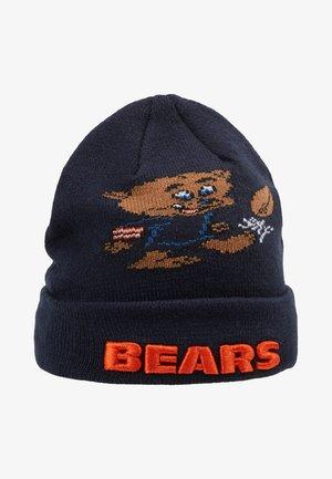 INFANT MASCOT CUFF CHICAGO BEARS - Berretto - dark blue