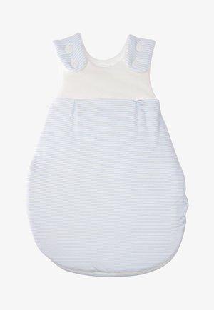 Baby's sleeping bag - hellblau gestreift