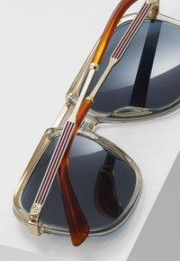 Gucci - Solbriller - brown/gold-coloured/blue - 4