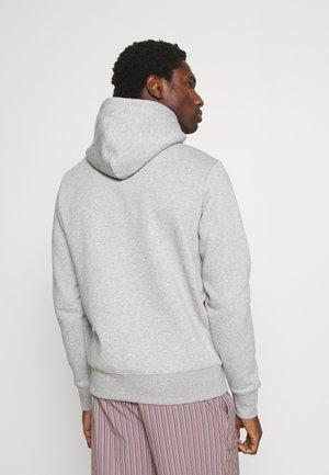 SPLIT STRIPE HOODY - Sweat à capuche - light grey heather