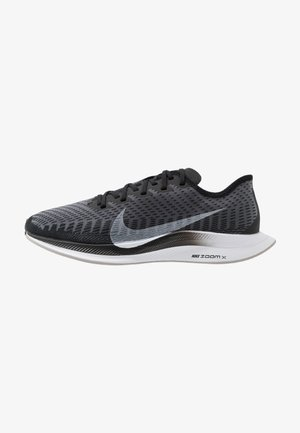 ZOOM PEGASUS TURBO 2 - Neutral running shoes - black/white/gunsmoke/atmosphere grey