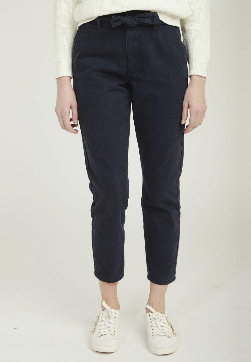 NAF NAF - DAILY - Trousers - blue