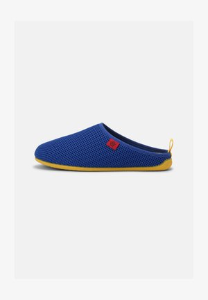 DYNAMIC UNISEX - Pantuflas - blue/yellow