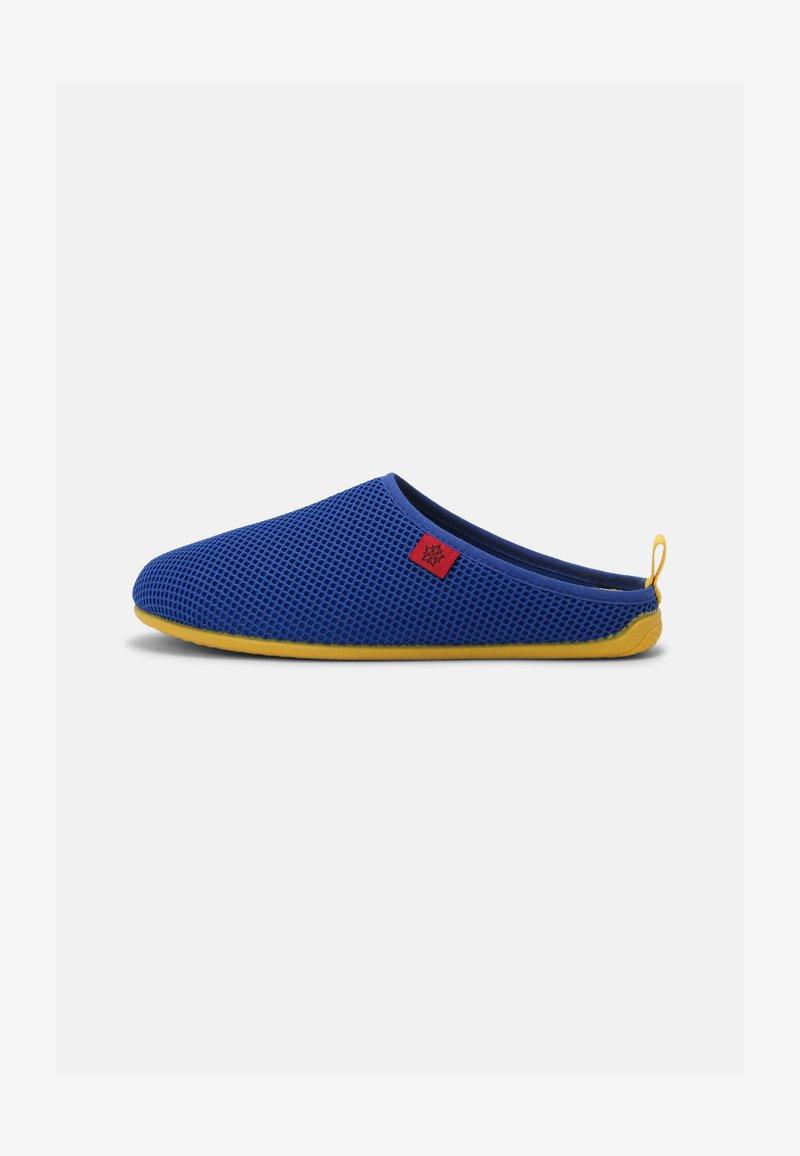 Andres Machado - DYNAMIC UNISEX - Pantuflas - blue/yellow