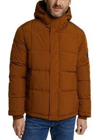 Esprit - BASIC PUFFER - Winter jacket - toffee - 6