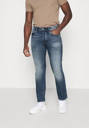 STRAIGHT - Straight leg jeans -  faded riverblue