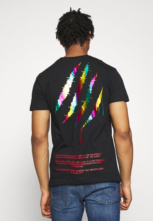 METAL - T-shirts med print - black