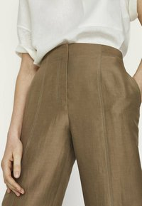 Massimo Dutti - Trousers - brown - 2
