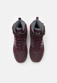 Jack Wolfskin - DOWNHILL TEXAPORE MID - Hiking shoes - burgundy/pink - 3