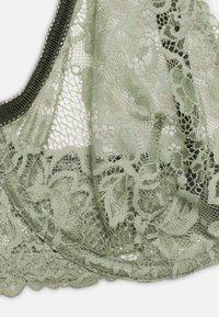 Women Secret - GUIPURE - Triangle bra - light khaki - 2