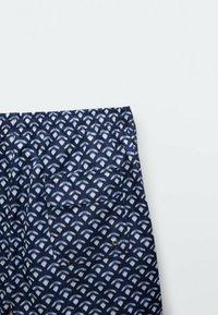 Massimo Dutti - Swimming shorts - blue black denim - 4