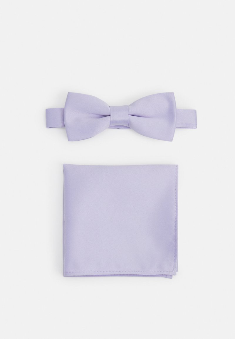 Only & Sons - ONSTRENT BOW TIE BOX HANKERCHIEF SET - Pocket square - pastel lilac
