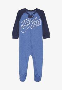 Nike Sportswear - FOOTED COVERALL BABY - Pyjama - mountain blue heather - 3