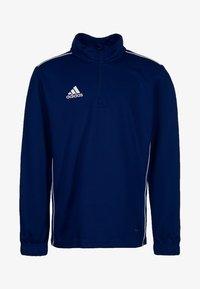 adidas Performance - CORE 18 SWEATSHIRT - Sports shirt - dark blue - 0