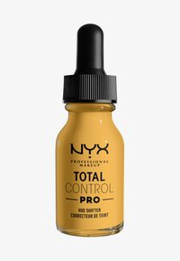 Nyx Professional Makeup - TOTAL CONTROL PRO HUE SHIFTER - Foundation - warm - 0