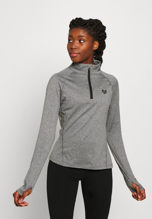 ENCINO TOP - Sweatshirt - mid grey grindle