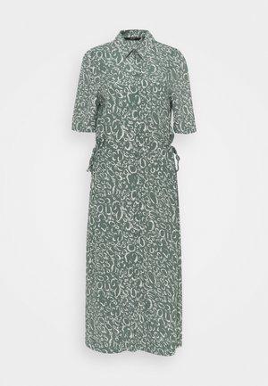 VMLIVA CALF SHIRT DRESS - Sukienka koszulowa - laurel wreath/liva