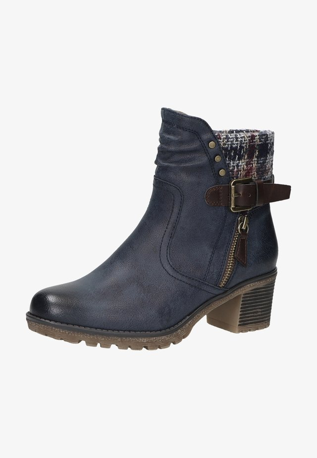 Boots à talons - dunkelblau 21