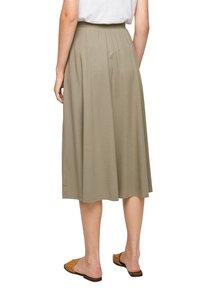 s.Oliver - A-line skirt - summer khaki - 5