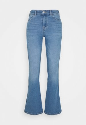 SONIQ - Flared Jeans - westcoast light blue