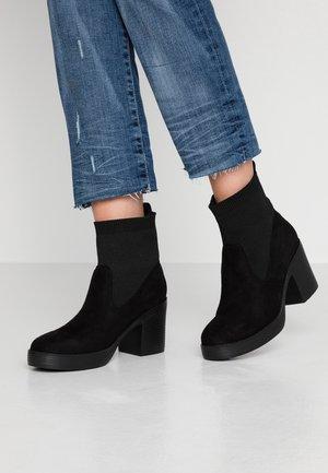 VICKY - Støvletter - black