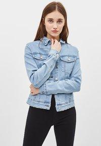 Bershka - Denim jacket - blue denim - 0