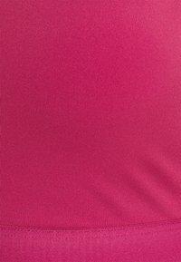adidas Performance - BRA - Reggiseno sportivo con sostegno leggero - wild pink/screaming pink - 7