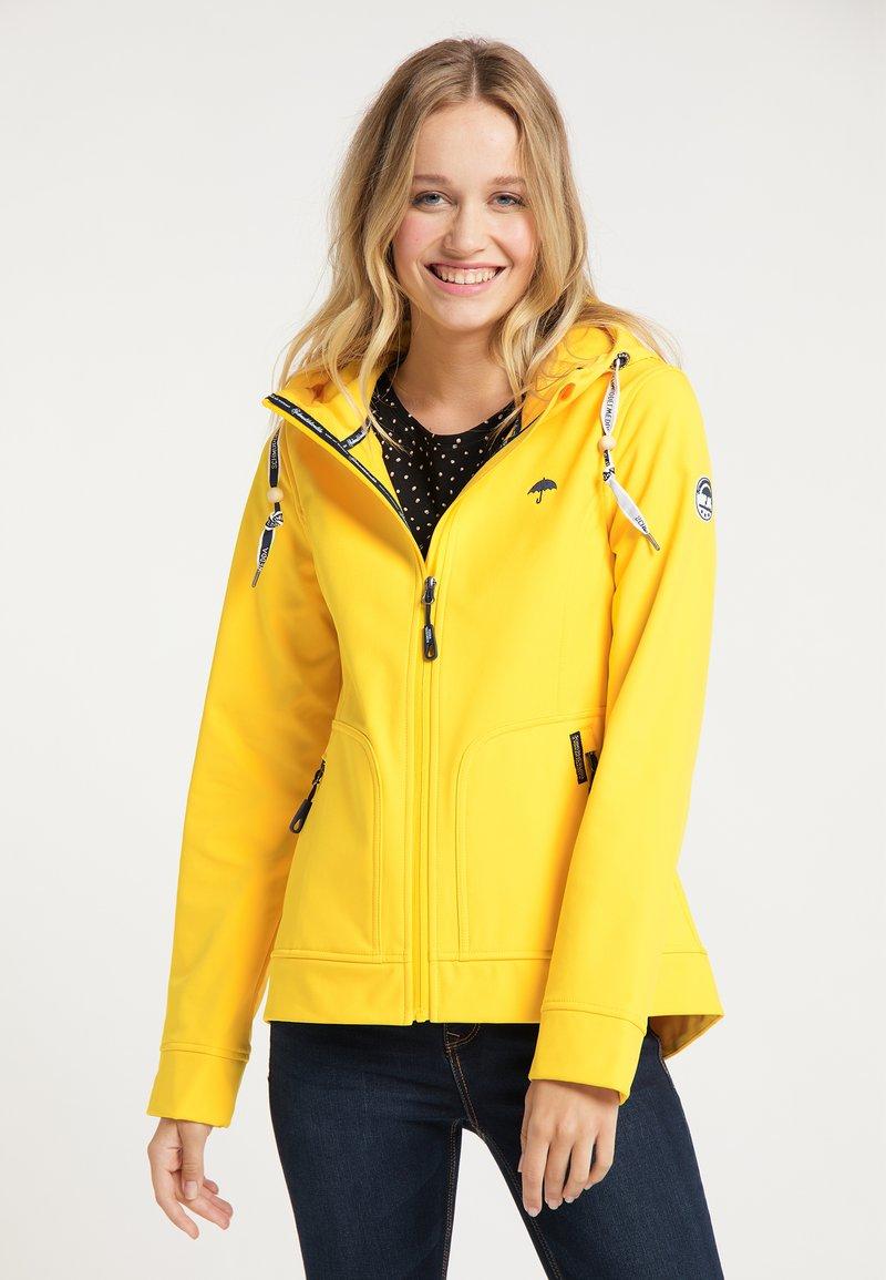 Schmuddelwedda - Outdoorová bunda - gelb