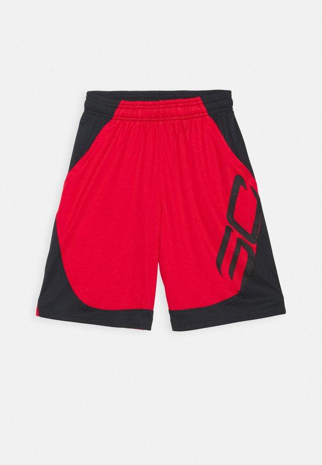 CURRY BOYS BASKETBALL SHORT - Sportovní kraťasy - red