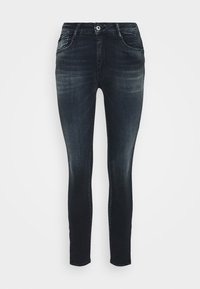 Le Temps Des Cerises - Slim fit jeans - black/blue - 4