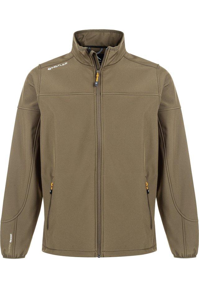 DUBLIN - Soft shell jacket - 5056 tarmac